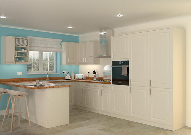 Buxted Legno Mussel Kitchen Doors