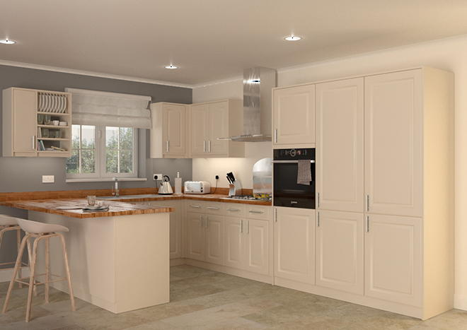 Buxted Mussel Kitchen Doors