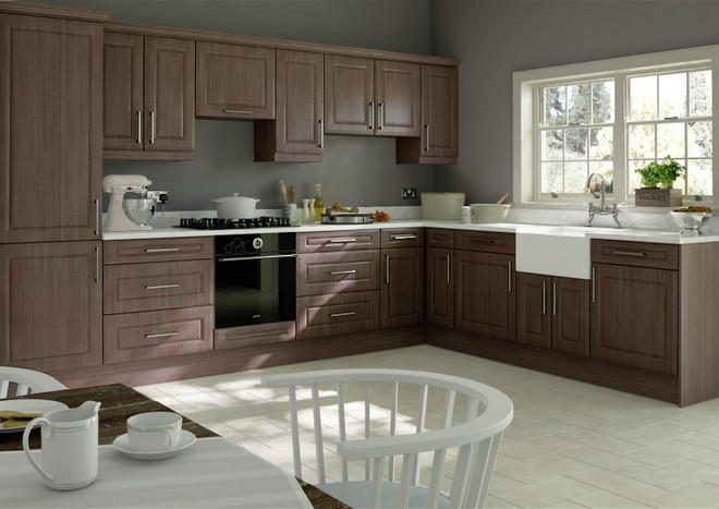 Chichester Avola Grey Kitchen Doors