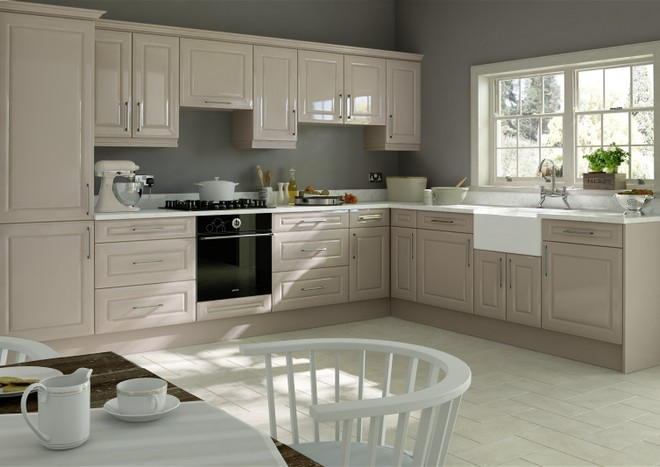 Chichester High Gloss Cappuccino Kitchen Doors