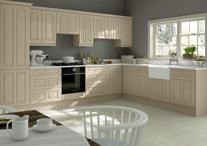 Chichester High Gloss Dakar Kitchen Doors