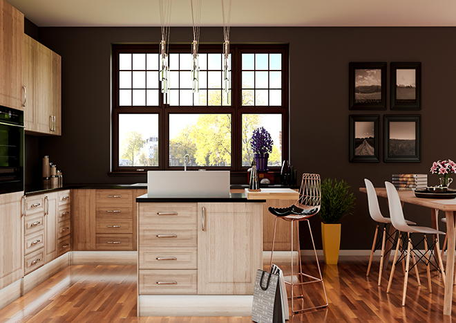 Chichester Sonoma Oak Kitchen Doors