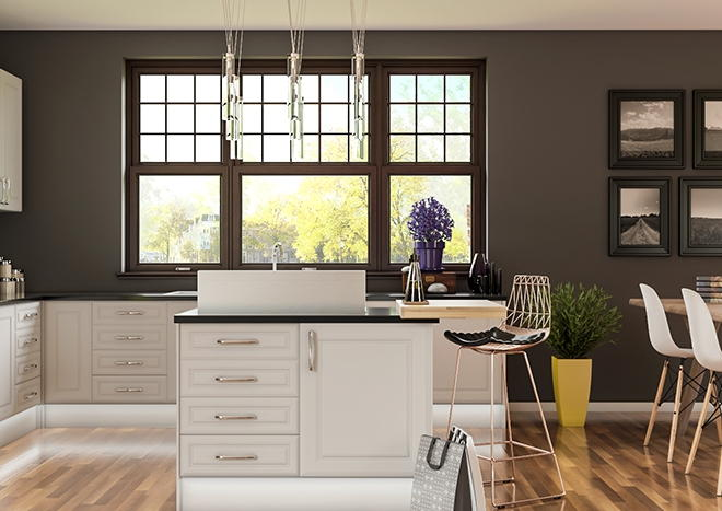 Chichester TrueMatt Taupe Grey Kitchen Doors