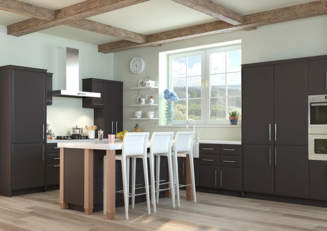 Durrington Graphite Kitchen Doors