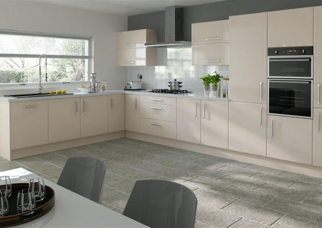 Durrington Legno Mussel Kitchen Doors