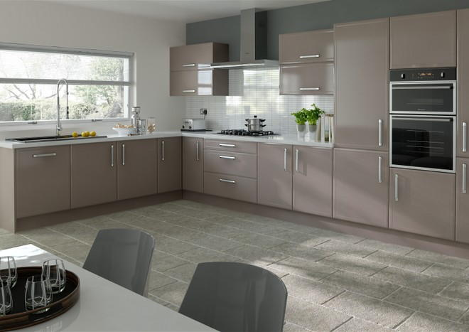 Durrington Stone Grey Kitchen Doors