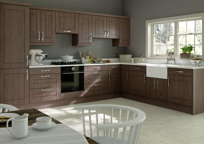 Fairlight Avola Grey Kitchen Doors