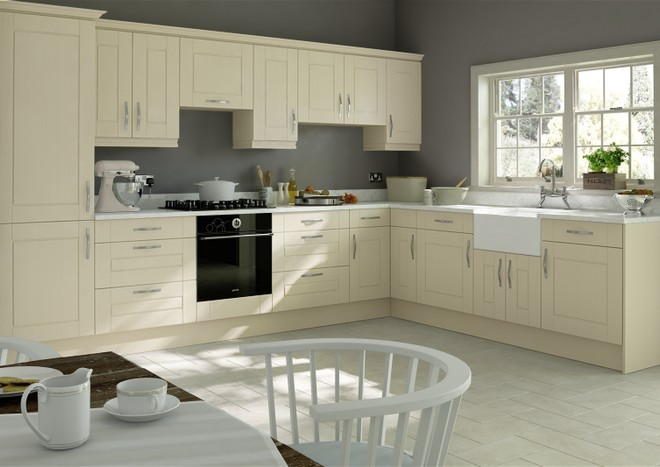 Fairlight Cream Ash Kitchen Doors