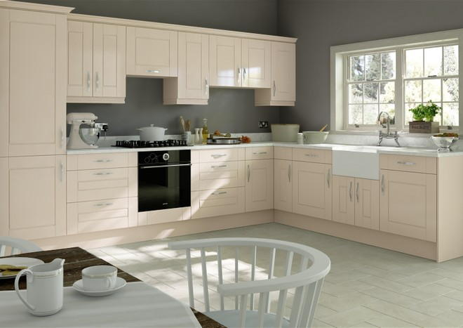 Fairlight Legno Mussel Kitchen Doors