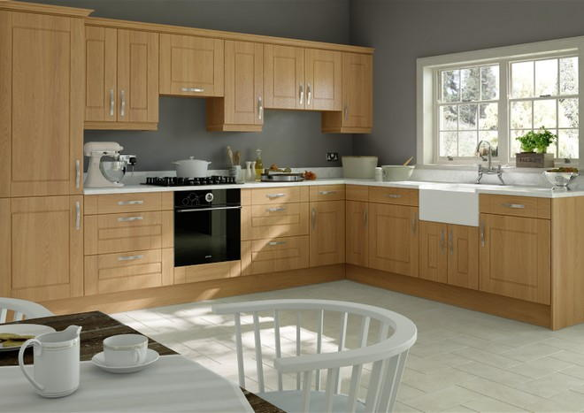 Fairlight Lissa Oak Kitchen Doors