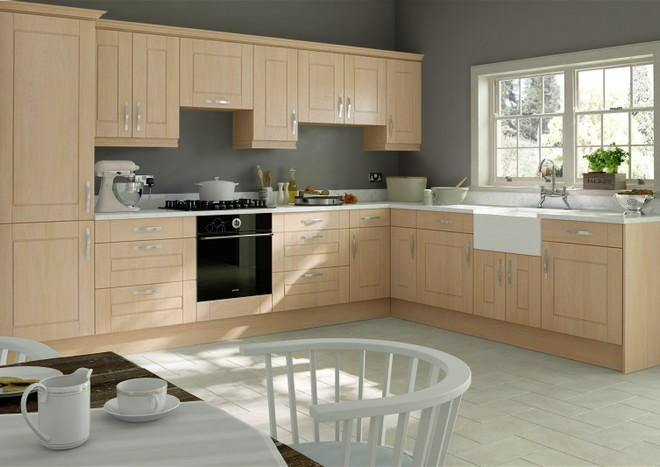 Fairlight Montana Oak Kitchen Doors