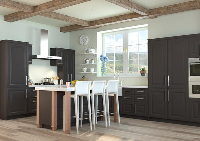 Fontwell Graphite Kitchen Doors
