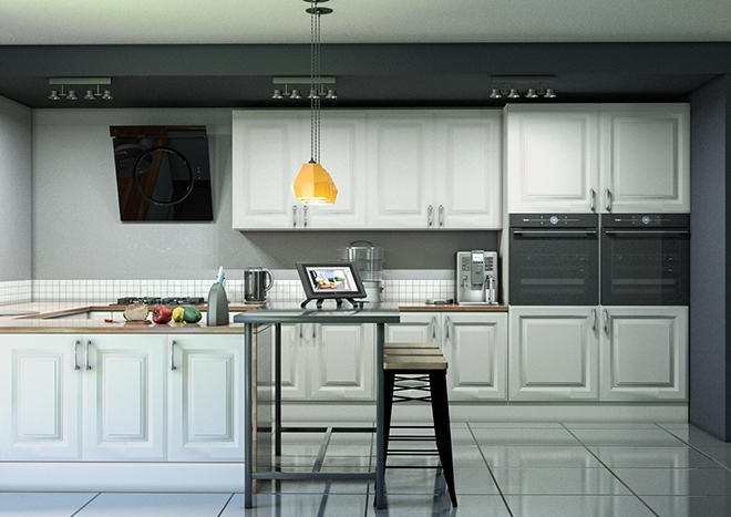 Fontwell TrueMatt Taupe Grey Kitchen Doors