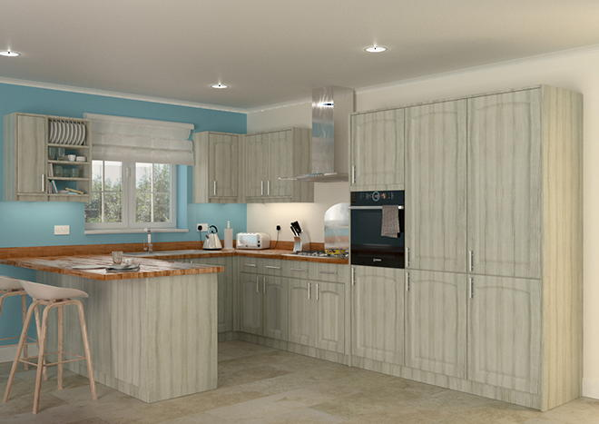 Hartfield Avola White Kitchen Doors