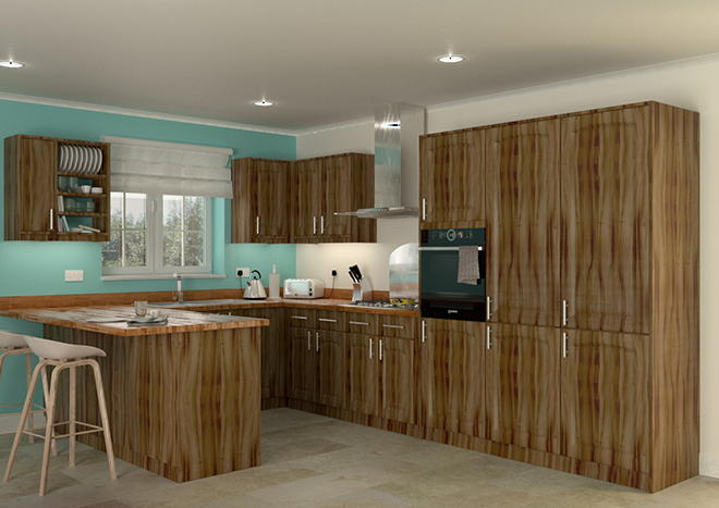Hartfield Medium Tiepolo Kitchen Doors