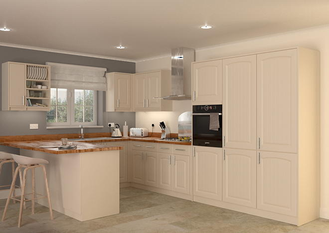 Hartfield Mussel Kitchen Doors