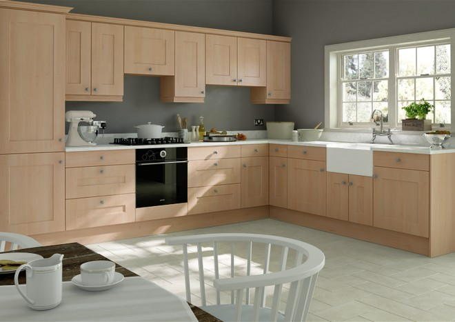 Kingston Beech Kitchen Doors