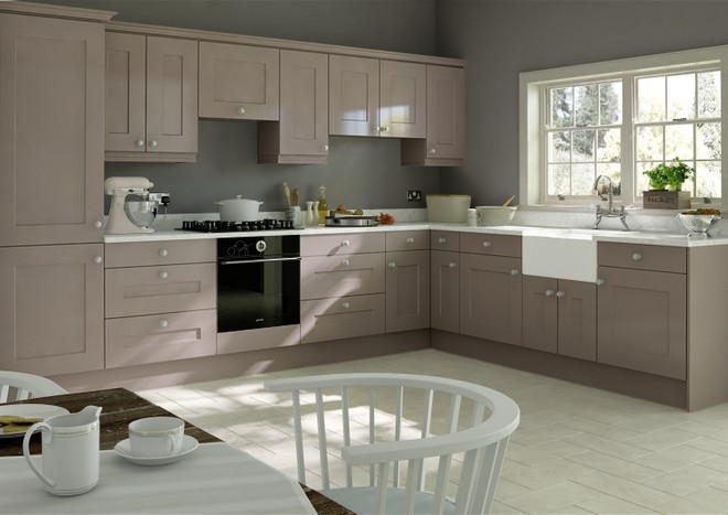 Kingston Legno Stone Grey Kitchen Doors