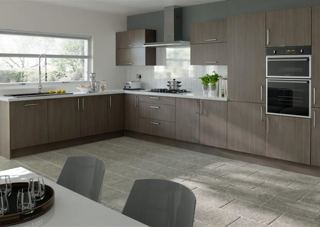 Lewes Avola Grey Kitchen Doors