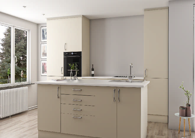 Lewes Cream Kitchen Doors