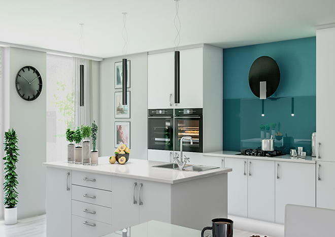 Lewes TrueMatt Porcelain Kitchen Doors