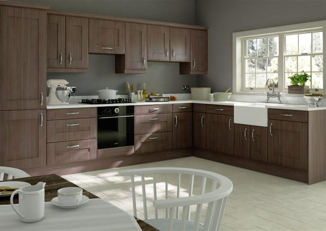 Mayfield Avola Grey Kitchen Doors