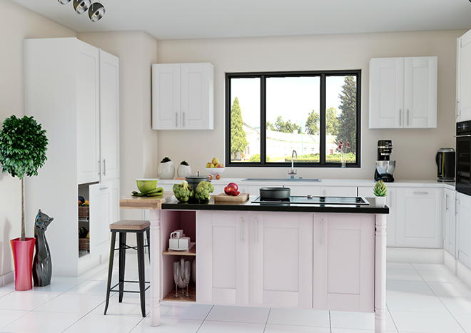Mayfield Porcelain White Kitchen Doors