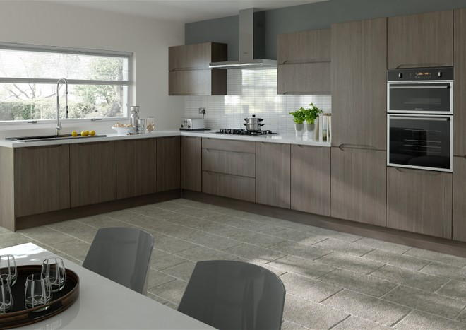 Petworth Avola Grey Kitchen Doors