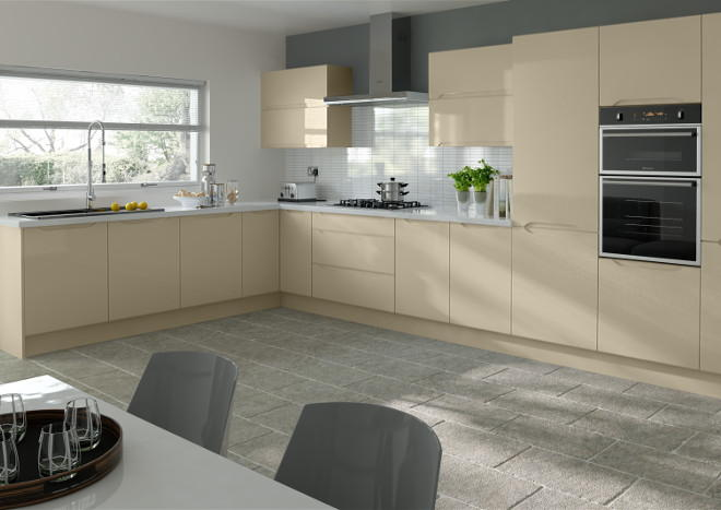 Petworth High Gloss Dakar Kitchen Doors