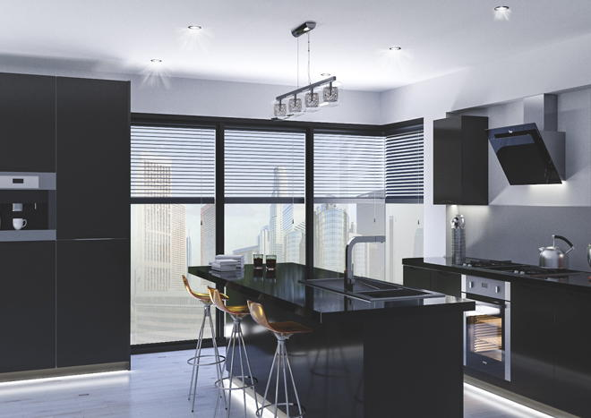 Petworth High Gloss Graphite Kitchen Doors