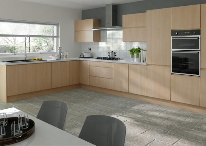 Ringmer Beech Kitchen Doors