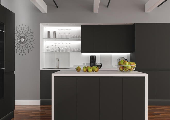 Ringmer Graphite Kitchen Doors