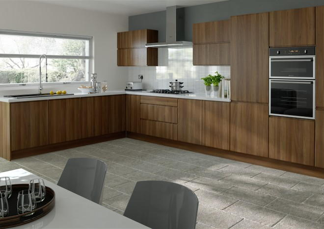 Ringmer Medium Walnut Kitchen Doors | Made to Measure from ...