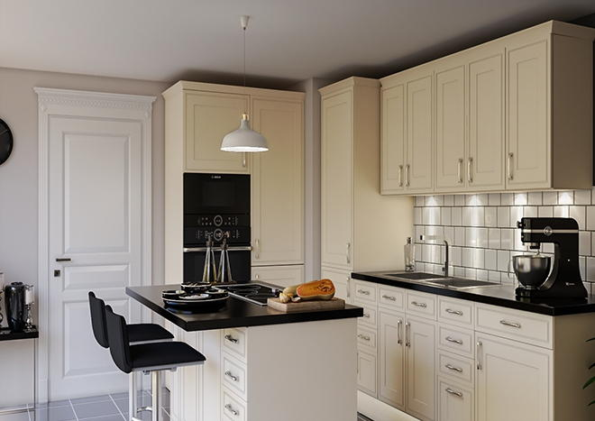 Singleton Beige Kitchen Doors Made To Measure From 163 3 19