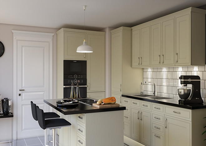 Singleton Legno Magnolia Kitchen Doors