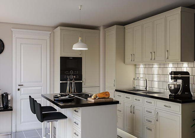 Singleton Vanilla Kitchen Doors