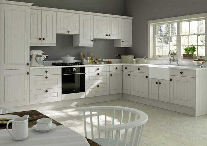 Storrington Avola White Kitchen Doors