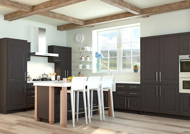 Ticehurst Graphite Kitchen Doors