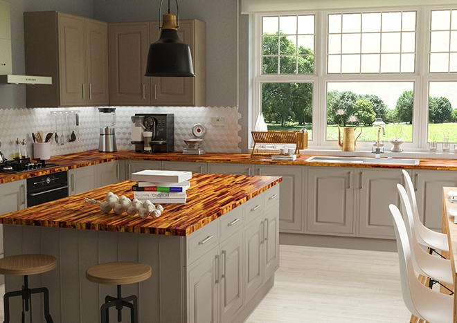 Ticehurst TrueMatt Pebble Kitchen Doors