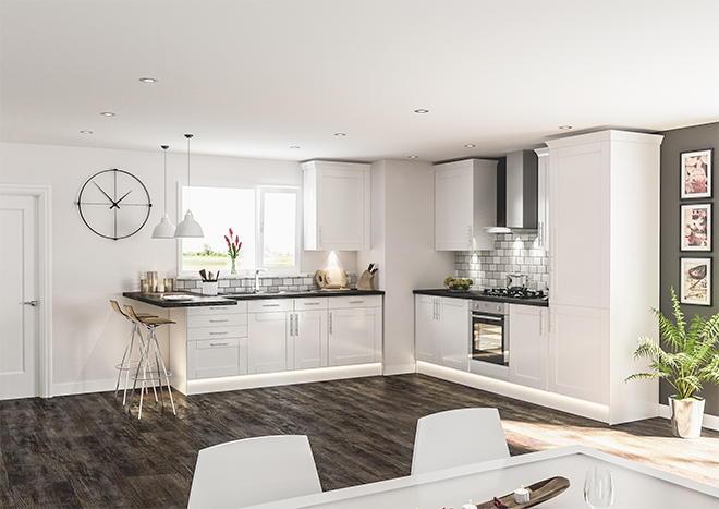Modern White Kitchen Cabinet Doors replacing kitchen cabinet doors: pictures & ideas from hgtv | hgtv