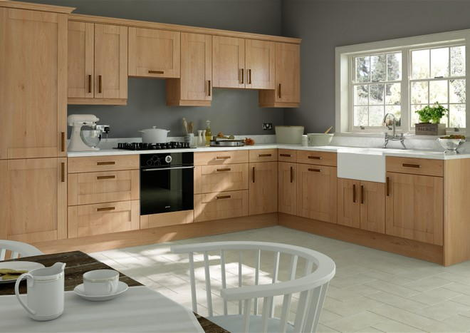 Washington Odessa Oak Kitchen Doors