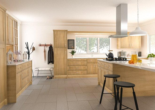 Washington Ontario Maple Kitchen Doors