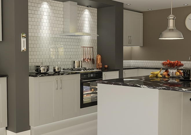 Washington TrueMatt Light Grey Kitchen Doors