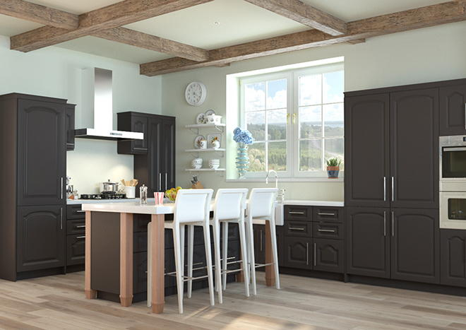 Westfield Graphite Kitchen Doors