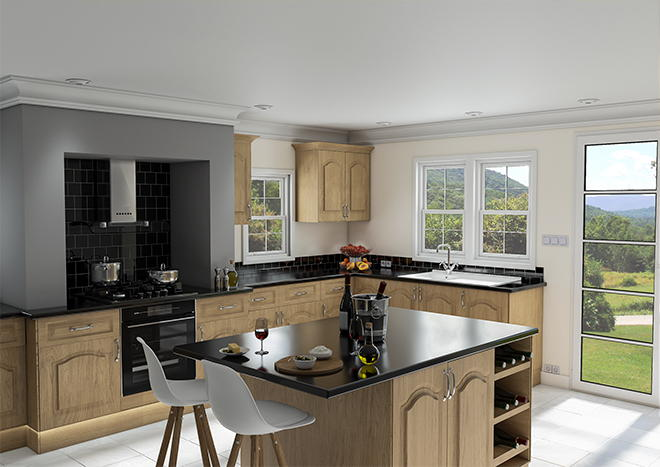Westfield Lissa Oak Kitchen Doors