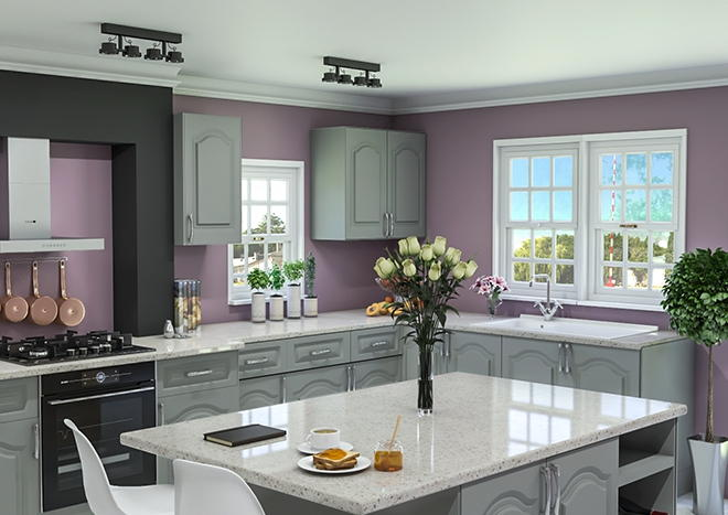Westfield TrueMatt Dust Grey Kitchen Doors