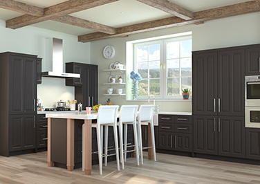 Amberley Graphite Kitchen Doors