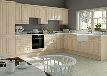 Amberley Magnolia Kitchen Doors