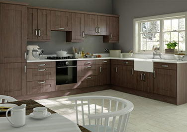 Arlington Avola Grey Kitchen Doors
