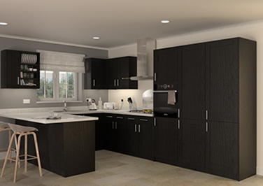 Arlington Legno Jet Kitchen Doors